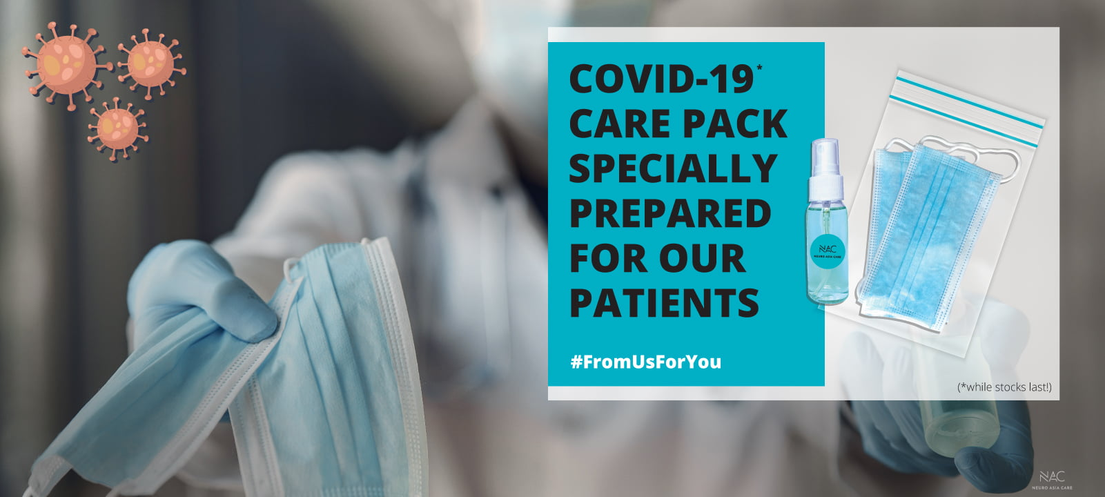 Covid-19 support for our patients